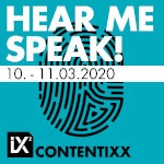 Contentixx 2020 Hear me Speak