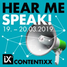 Contentixx 2019 - Hear Me Speak