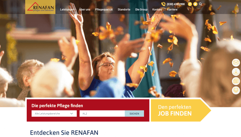 RENAFAN Group renafan.de Postlaunch