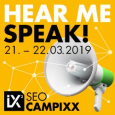 SEO Campixx 2019 - Hear Me Speak